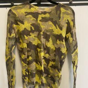 Michael Kors Camo Sweater